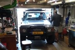 auto omgebouwd tot camper in Pernis (juni 2018)