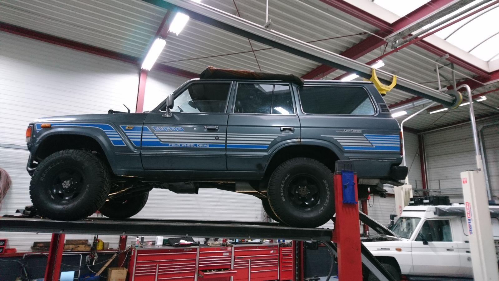 Maak kennis met onze Toyota Landcruiser HJ60